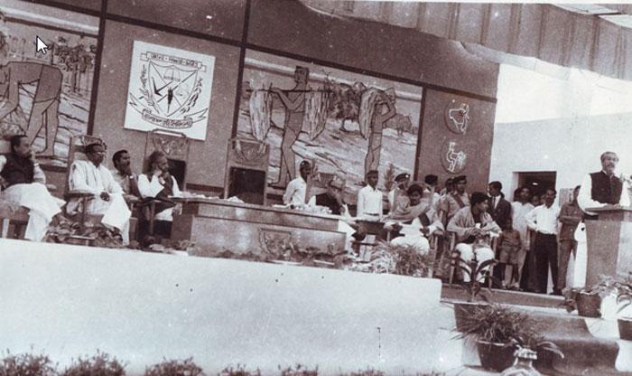 বাকৃবি'তে বঙ্গবন্ধু ও তাঁর ঐতিহাসিক সেই ভাষণ