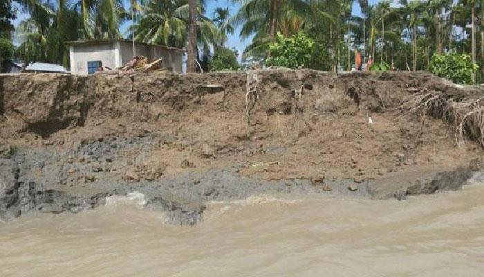 অব্যাহত নদী ভাঙ্গন : মানচিত্র থেকে মুছে যেতে পারে মুজিবনগর