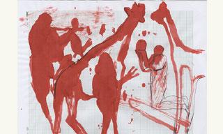 সুবীর চৌধুরী বৃত্তি পাওয়াশিল্পীদের শিল্পকর্ম নিয়ে ওপেন স্টুডিও