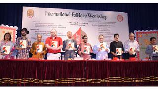 বাংলা একাডেমিতে ফোকলোর সামার স্কুলের সমাপনী কর্মশালা