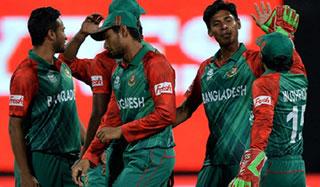 স্লো ওভার রেট : বাংলাদেশ দলকে জরিমানা