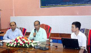 কর্মশালা : প্রতিরোধী জাত উন্নয়ন রুঁখবে 'ব্লাস্ট' আগ্রাসন