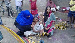 বেদ সম্প্রদায়ের পাশে কোটচাঁদপুরের ভারপ্রাপ্ত চেয়ারম্যান