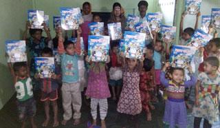চট্টগ্রামে আইএসডিই প্রাক-প্রাথমিক স্কুলে শিক্ষা উপকরণ বিতরণ