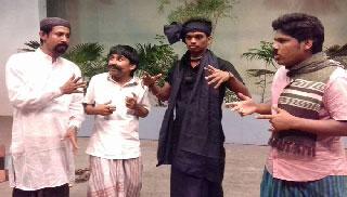 কাব্য বিলাস নাট্যগোষ্ঠীর 'চোরাবালি' নাটকের শুটিং শেষ