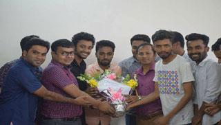 জাককানইবি'র 'ইইই' বিভাগের নতুন প্রধান লিটন কুমার