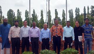 কুয়েটে প্রস্তাবিত হাই-টেক পার্ক পরিদর্শনে প্রতিনিধি দল