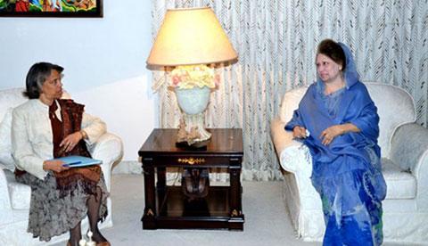 বুধবার খালেদা জিয়া-বার্নিকাট বৈঠক