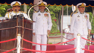 বাংলাদেশ নৌবাহিনী এখন ত্রিমাত্রিক শক্তি : নৌপ্রধান