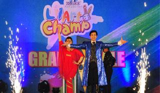 'লিটল আর্ট চ্যাম্প'র অনুষ্ঠানে ম্যাজিকস্টার আলিরাজ
