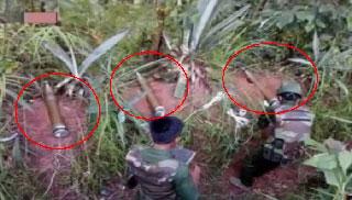 এখনও স্থল মাইন পুঁতছে মিয়ানমারের সেনাবাহিনী