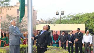 নয়া দিল্লির বাংলাদেশ হাইকমিশনে স্বাধীনতা দিবস উদযাপন