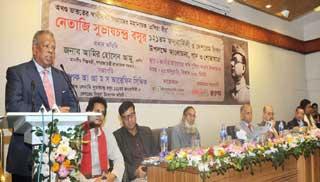 'স্বাধীনতার প্রশ্নে নেতাজি ও বঙ্গবন্ধুর বহু মিল'