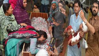 পাকিস্তানে রোববার জাতীয় শোক দিবস ঘোষণা