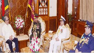 সশস্ত্র বাহিনীর ভাবমূর্তি সমুন্নত করার আহ্বান রাষ্ট্রপতির