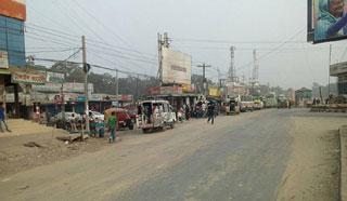 ঢাকা-টাঙ্গাইল মহাসড়কে কমছে ব্যাটারি চালিত অটোরিকশা