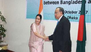 বাংলাদেশ-ভারতের মধ্যে জ্বালানি ও তথ্য বিষয়ে চুক্তি সই