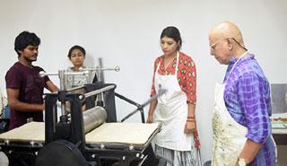 বেঙ্গল প্র্যাকটিস স্টুডিও'র আয়োজনে ছাপচিত্র কর্মশালা শুরু