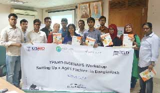 YPARD in Setting up on Ag4N to Address Food Security