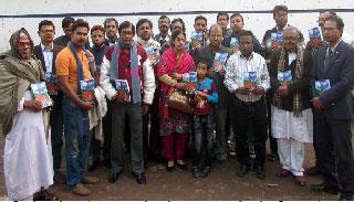 বিদ্রোহী সাহিত্য পরিষদের 'বিদ্রোহী'র মোড়ক উন্মোচন