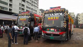 ঢাকা-কাঠমান্ডু পরীক্ষামূলক বাস চলাচল শুরু