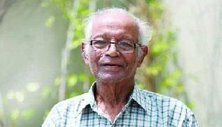 রোববার দ্বিজেন শর্মার মরদেহে শ্রদ্ধা নিবেদন