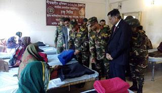 কালিয়াকৈরে সেনাবাহিনী'র চক্ষু শিবির