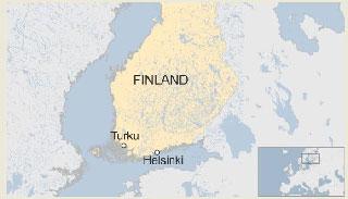 ফিনল্যান্ডে বেশ কয়েকজন ছুরিকাহত: পুলিশের গুলি