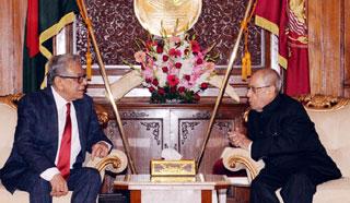 ভারতের সঙ্গে চমৎকার সম্পর্ক জোরদার হচ্ছে : রাষ্ট্রপতি