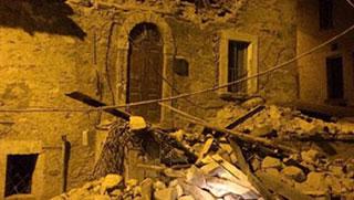 ইতালিতে শক্তিশালী ভূমিকম্পের আঘাত