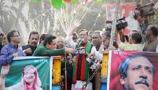 'বাংলাদেশকে বাঁচাতে বঙ্গবন্ধুর আওয়ামীলীগকে বাঁচাতে হবে'