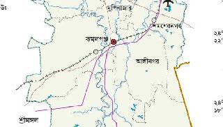 কমলগঞ্জে ট্রাক্টর চালকের হামলায় সাংবাদিক আহত