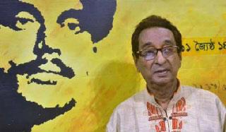 শিল্পী-গবেষক খালিদ হোসেন হাসপাতালে ভর্তি