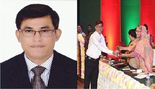 কমলগঞ্জ ইউএনও'র জনপ্রশাসন পদক লাভ