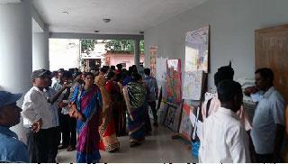 দেয়ালিকা উৎসবে রাঙাল কমলগঞ্জ