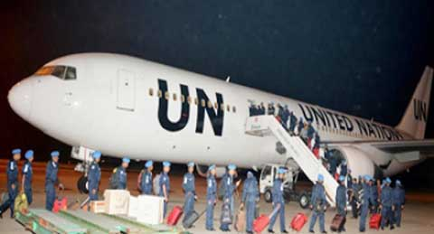 শান্তিরক্ষা মিশনে লেবানন গেলেন নৌবাহিনীর ১৩৫ সদস্য