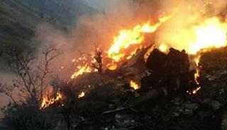'বিধ্বস্ত' পাকিস্তানি বিমানটির ৪৭ আরোহীই নিহত
