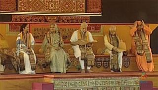 বর্ণিল সাজে বিশ্বভারতী : একমঞ্চে হাসিনা-মোদি-মমতা