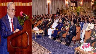 বাংলাদেশ বিশ্ব শান্তিকে গুরুত্ব দেয় : রাষ্ট্রপতি