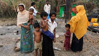 কার্টুন এঁকে বার্মায় রোহিঙ্গা বিরোধী প্রচারণা