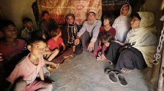 বাংলাদেশে পালিয়ে এসেছে ২১ হাজার রোহিঙ্গা মুসলিম, বলছে আই ও এম