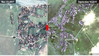 রোহিঙ্গাদের ২১৪টি গ্রাম ধ্বংস হয়ে গেছে : এইচআরডাব্লিউ