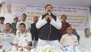 পোস্তগোলা শ্মশানঘাটে নতুন নৌ-টার্মিনাল ভবন হবে : শাজাহান খান