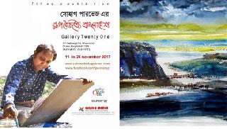 শিল্পী সোহাগ পারভেজের 'রূপ বৈচিত্র্যে বাংলাদেশ' শুরু ১১ নভেম্বর