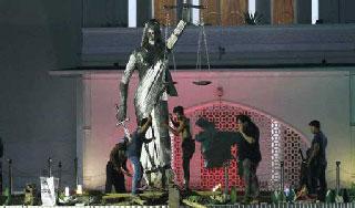 ভাস্কর্য অপসারণ :৩ জুন জোট প্রতিবাদ দিবস ঘোষণা