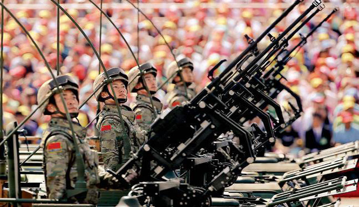 সামরিক শক্তিতে মার্কিন ভাবনারও সীমা ছাড়িয়েছে চীন