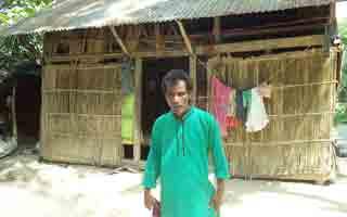 প্রভাবশালীদের হারিয়ে 'জনতার মেম্বার' হতদরিদ্র কালু