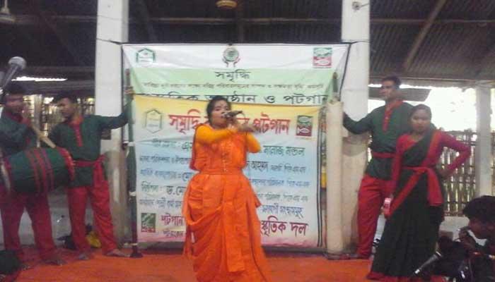 কমলগঞ্জে পিকেএসএফ সমৃদ্ধি কর্মসূচির 'পটগান'