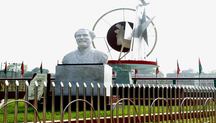 বাংলাদেশের ইতিহাসের স্মারক 'বিমূর্ত মুক্তিযুদ্ধ' উদ্বোধন