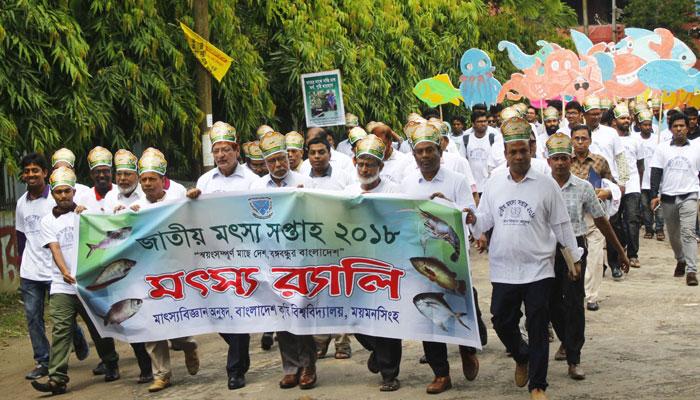 বাকৃবিতে জাতীয় মৎস্য সপ্তাহ উদযাপন